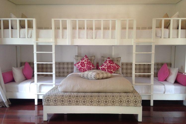 Desain kamar Casa Evaliza, tempat menginap Jorge Lorenzo di Bali.