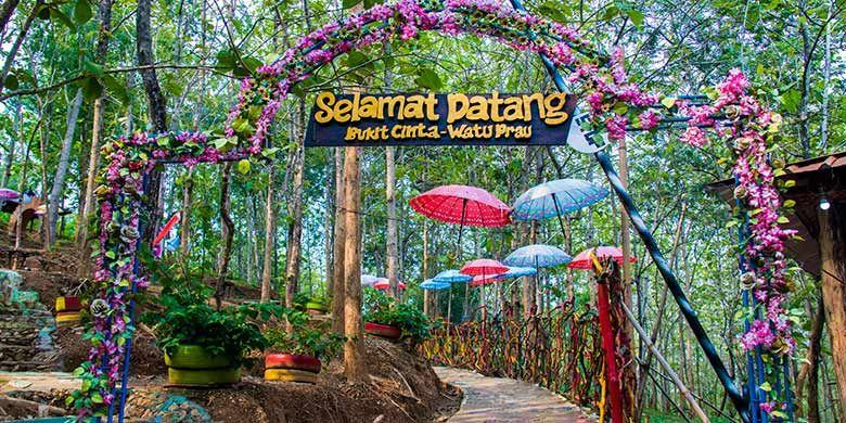 Bukit Cinta Watu Perahu, Klaten