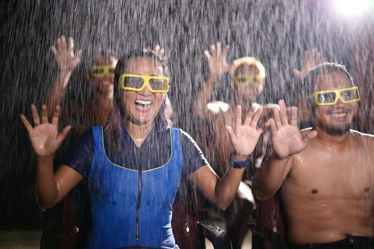 Salah satu wahana di Go! Wet Waterpark yaitu Go! Wet 5D Theater.