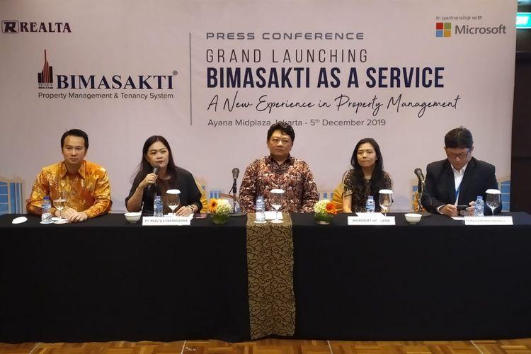 PT Realta Chakradarma melakukan inovasi teknologi dengan produk terbaru yakni Bimasaki as a Service yang diluncurkan di Jakarta, Kamis (5/12/2019).