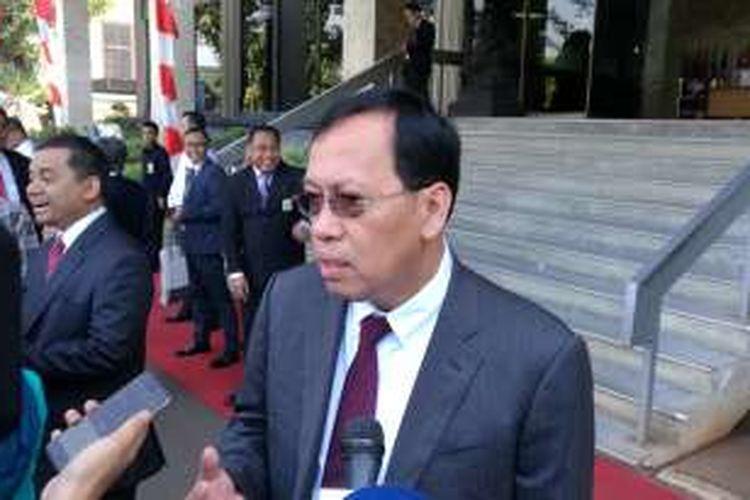 Direktur Jenderal Pengelolaan Pembiayaan dan Risiko (PPR) Robert Pakpahan di Jakarta, Rabu (17/8/2016).
