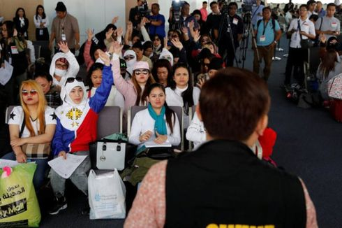 Rekrut Tenaga Kerja Filipina, Agensi Kuwait Wajib Setor RP 145 Juta
