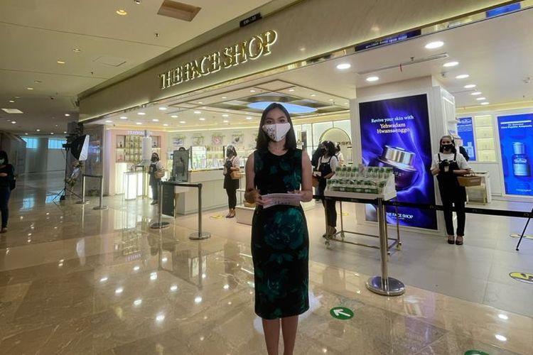 The Face Shop Indonesia membuka flagship store pertamanya di mal Grand Indonesia Jakarta (7/1/21).