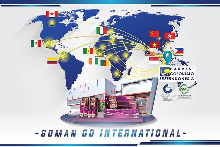 Produsen produk Herbal Tetes SoMan yang sebelumnya sukses memasarkan produknya di dalam negeri, kini sudah mampu menembus pasar China, Hongkong, dan 10 negara lainnya.
