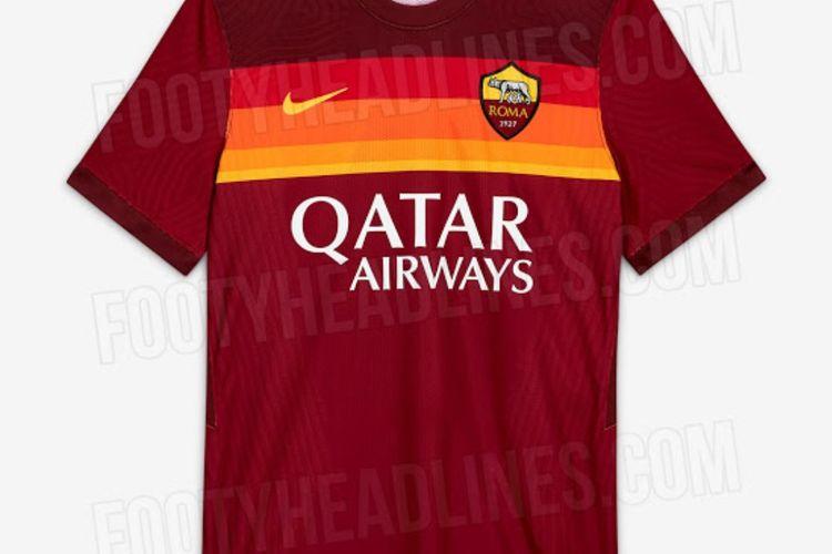 Jersey kandang 2020-2021 AS Roma.