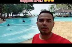 Video Viral TikTok Anggota DPRD Wisata ke Pantai Anyer, Berkata Mewakili Warga Banten Liburan
