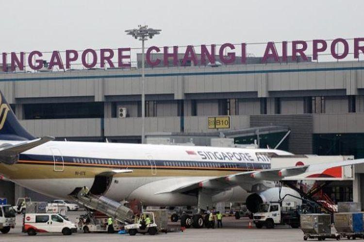 Bandara Internasional Changi, Singapura.