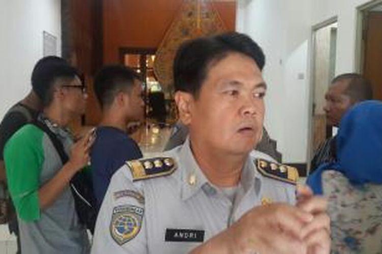 Kepala Dinas Perhubungan dan Transportasi DKI Jakarta Andri Yansyah