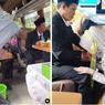 Viral, Video Pasangan Pengantin Gelar Resepsi di Dalam Bus, Bagaimana Ceritanya?