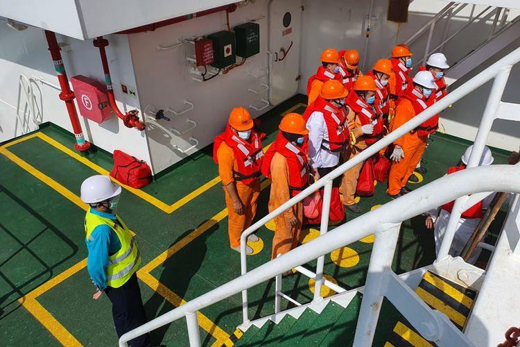 Port State Control (PSC) atau petugas pengawasan kapal Asing di Indonesia mendapat pengakuan dunia.