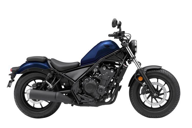 Honda Rebel warna Pearl Spencer Blue