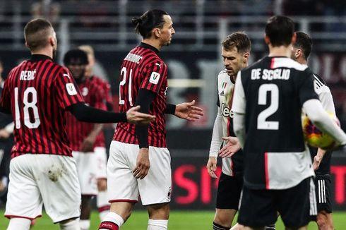 Jadwal Pekan Ke-31 Liga Italia, Big Match AC Milan Vs Juventus