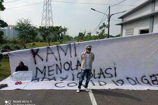 Takut Tertular, Warga Blokade Pintu Masuk dan Tolak Kompleks GBT Surabaya Jadi Tempat Isolasi Pasien Covid-19