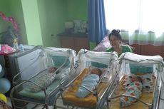 15 Tahun Menunggu, Pasangan Suami Istri di Riau Akhirnya Dikaruniai 3 Bayi Kembar