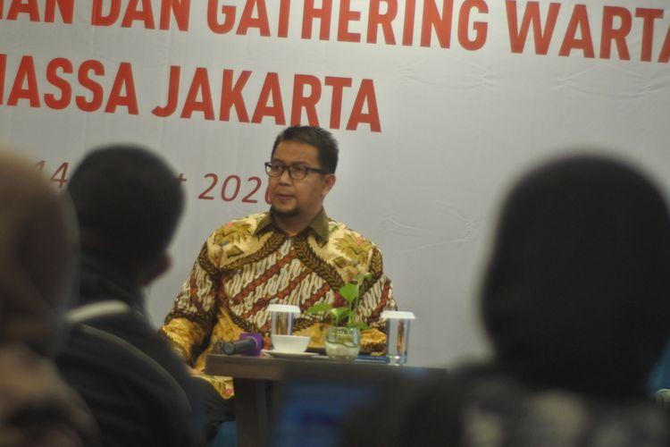 Deputi Komisioner Pengawas Pasar Modal II OJK Fakhri Hilmi
