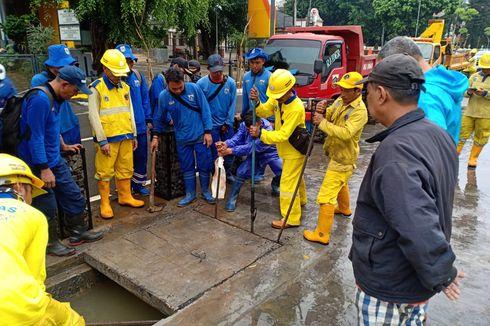 Banjir di Cikini Disebabkan Saluran Air Tersumbat di Depan Proyek Revitalisasi TIM