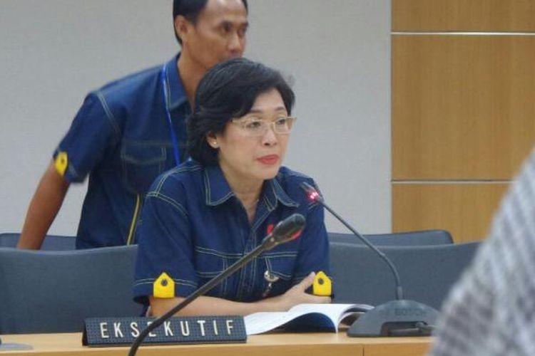Direktur Utama PD Dharma Jaya Marina Ratna Dwi Kusuma