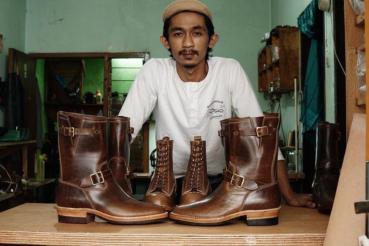 Pemilik Onderhoud Handmade, Rizky Afnan Penggalih.