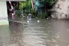 Air Kali Krukut Meluap, Sejumlah Titik di Cilandak Timur Terendam Banjir hingga 100 Cm