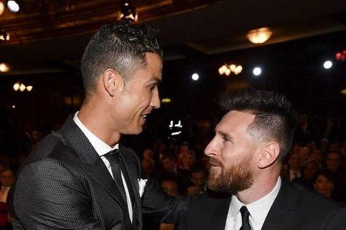 Positif Covid-19, Ronaldo Terancam Absen Lawan Lionel Messi dkk
