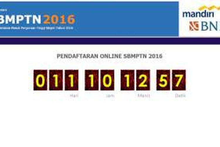 Pendaftaran SBMPTN 2016 segera dibuka.