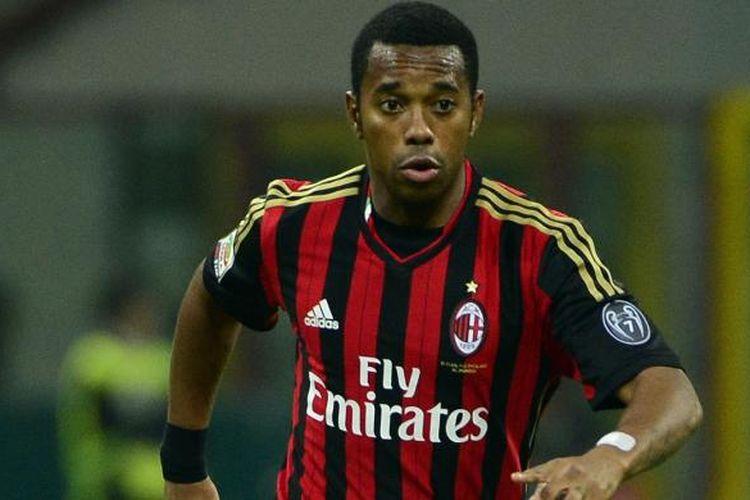 Penyerang AC Milan Robinho.