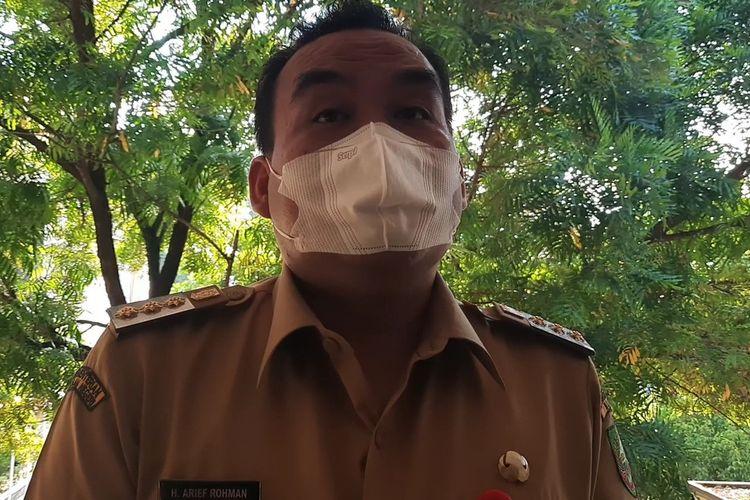 Bupati Blora, Arief Rohman saat ditemui Kompas.com di kantornya, Senin (10/5/2021)