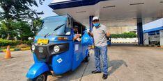 PT Gagas Energi Bagikan Sembako ke Pengemudi Transportasi Umum