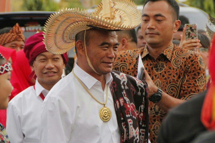 Menteri Pendidikan dan Kebudayaan (Mendikbud) Muhadjir Effendy saat berada di Kota Kupang, Nusa Tenggara Timur (NTT), Jumat (29/9/2017).