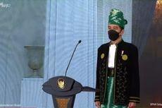 Kenakan Pakaian Adat Tanah Bumbu, Jokowi Pimpin Upacara Peringatan Hari Lahir Pancasila
