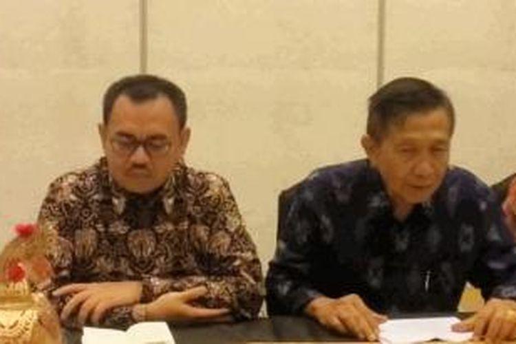 Mentri ESDM Sudirman Said dan Gubernur Bali Made Mangku Pastika