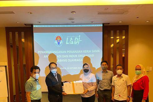 Teken MoU dengan LADI, Perbasi Bantu Pengambilan Sampel Doping