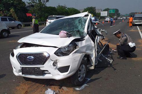 Ketakutan, Sopir Bus Saat Kecelakaan Beruntun di Tol Jagorawi Menyerahkan Diri