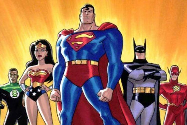 Karakter para pahlawan super yang diciptakan DC Comics