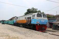 Kereta Api Angkutan Semen Bermuatan 400 Ton Per Hari Resmi Diluncurkan