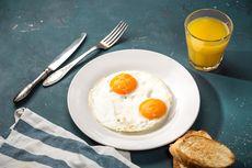 Resep Telur Ceplok Tanpa Minyak Goreng, Cukup Pakai Daun Pisang