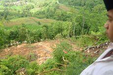 Tebing Longsor 200 Meter, Pesantren Terancam Ambles
