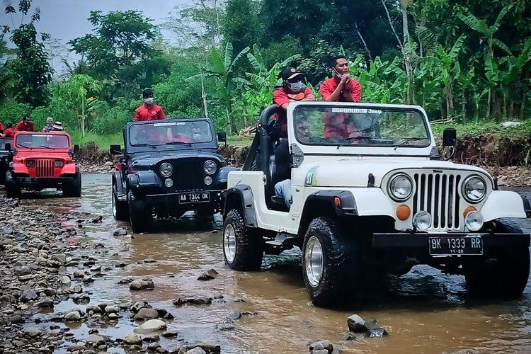 Jeep wisata Explore Borobudur