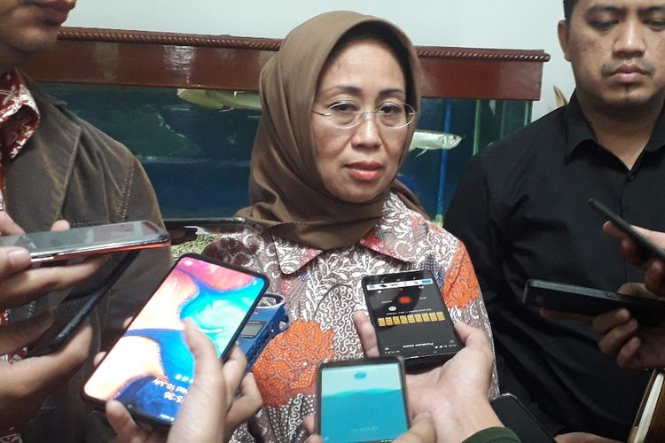 Anggota Ombudsman RI Ninik Rahayu di Gedung Ombudman, Rabu (10/7/2019).