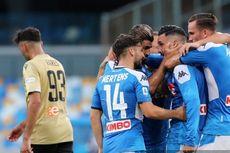 Hasil Liga Italia - Menang atas SPAL, Napoli Dekati Zona Eropa