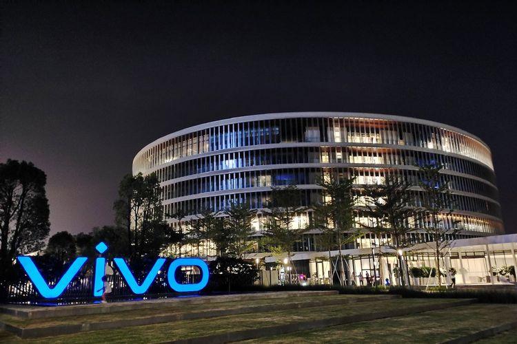 Kantor pusat Vivo di Guangdong, China.