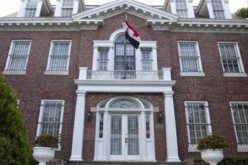 AS Tutup Kedutaan Besar Suriah di Washington DC