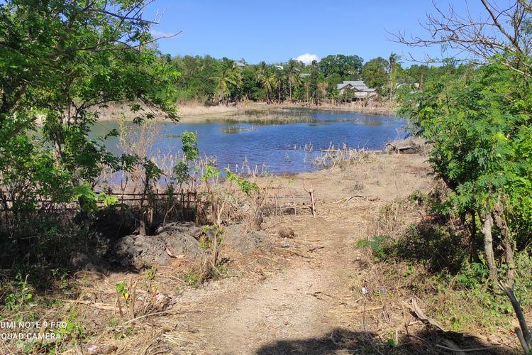 Air di Danau Sikumana Kupang, NTT nyaris kering