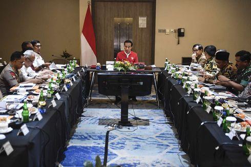 Jokowi Kumpulkan Menteri, Kapolri, hingga Panglima, Bahas Situasi Terkini