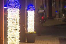Pasang Lampu Natal Mirip Penis, Wali Kota Belgia Minta Maaf
