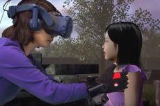 Momen Haru Ibu Bertemu Anak yang Telah Meninggal lewat VR