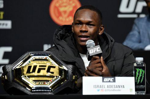 Menerima 184 Serangan di UFC 259, Israel Adesanya Bisa Menepi 6 Bulan