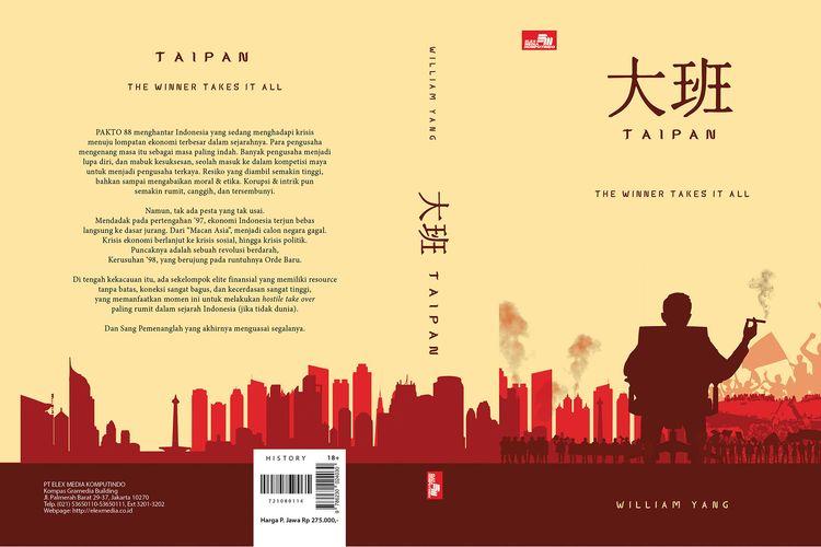 Cover buku Taipan The Winner Takes It All