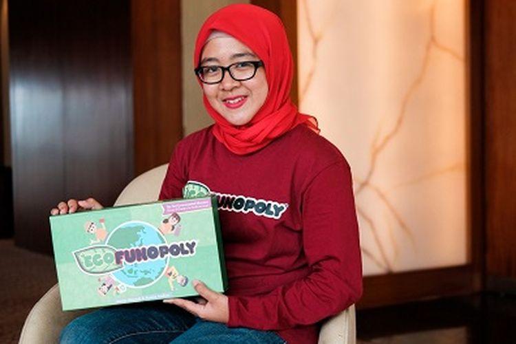 Rintis Mainan Edukatif Ecofunopoly, Alumnus IPB Raih Penghargaan World Bank