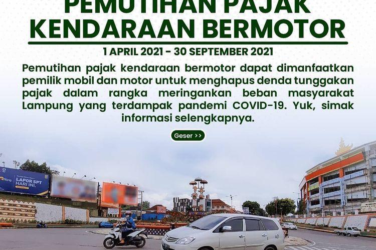 Pemutihan denda pajak Lampung